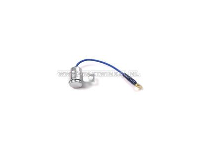 Condensator, Novio, Amigo of PC50,  universeel met draadje en beugeltje