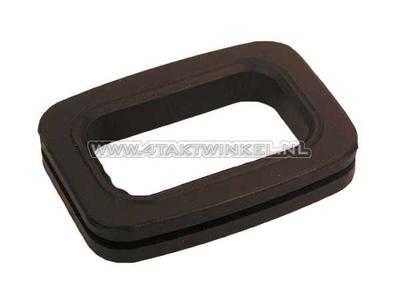 Luchtfilterhuis rubber, C50, C70, C90, onder luchtfilter, origineel Honda, NOS