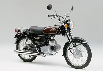 Sold! Honda CD90 Japanese 12625 km, with papers