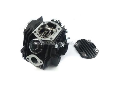 Cilinderset, met zuiger & pakking & cilinderkop 70cc, AGM, Skyteam, met EGR aansluiting, zwart