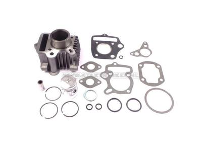 Cilinderset, met zuiger & pakking 50cc, Honda OT, aluminium, Japans