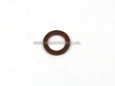 Ring  6mm, koper, origineel Honda