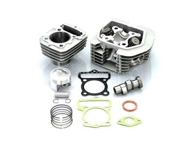 Cilinderset, met zuiger & pakking & cilinderkop 80cc, CB50, CY50, Kitaco