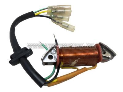 Spoel licht Hitachi, CB50, C50, origineel Honda