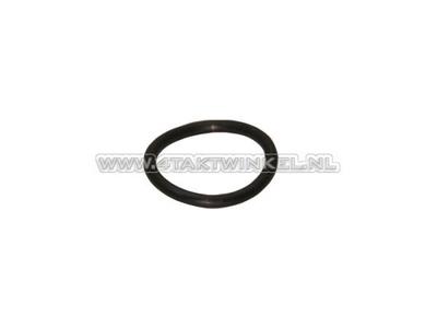 Olie peilstok rubber O-ring, C50, C310, C320, Origineel Honda
