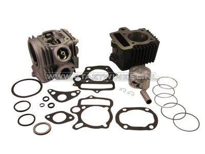 Cilinderset, met zuiger & pakking & cilinderkop 85cc, AGM, Skyteam, Honda NT, 49cc opdruk