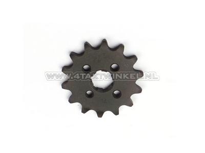 Pignon avant, 420 chaîne, 17mm, axe, 14, SS50, C50, Dax