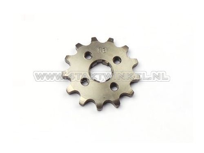 Pignon avant, 420 chaîne, 17mm, axe, 13, SS50, C50, Dax