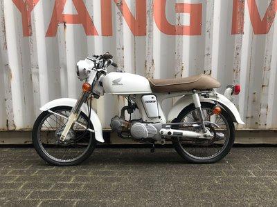 VERKOCHT! Honda CD50s benly Japans, Wit, 13500 km,