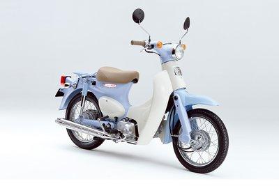 Verkocht! Honda Little cub, Japans, blauw, 10319km