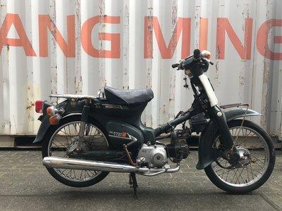 Verkocht, Honda C50 NT Japans, groen