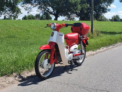 Verkocht! SMC Supercub 50cc, 2669km, Automaat
