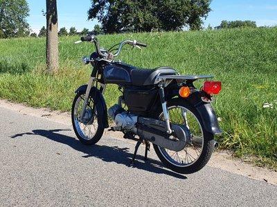 Honda CD50 benly Japanese, Black, 2321 km