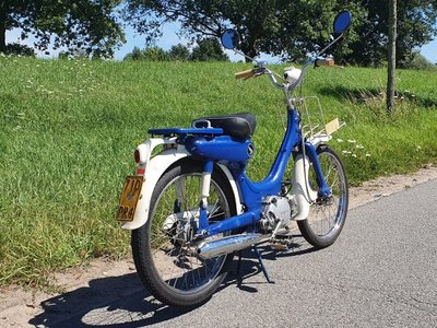 Sold! Honda PC50, Bleu