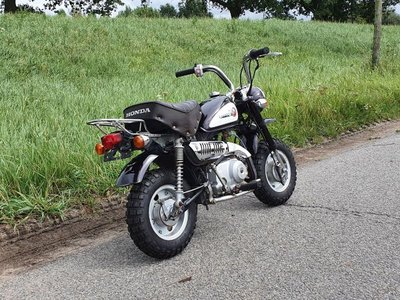 VERKOCHT ! Honda Monkey J2, 2546km