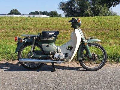 Honda C70 K1 Japanese, green, 16999km