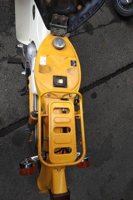 Coming soon! Honda C50 NT Japanese, yellow, 10118 km