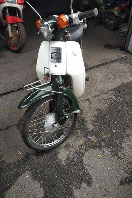 Coming soon! Honda C50 NT Japanese, green, 4756 km