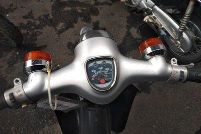 Coming soon! Honda C50 NT Japanese, silver, 12274 km