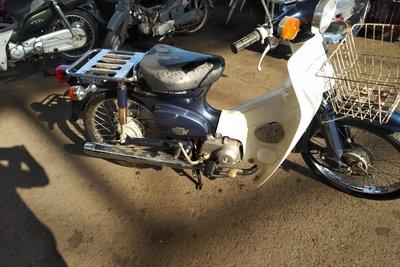 Coming soon! Honda C50 NT Japans, blue, 8860 km