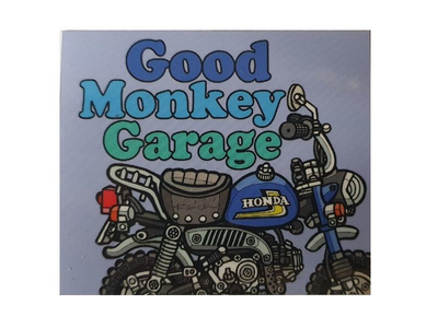 Autocollant de garage Good Monkey # 2