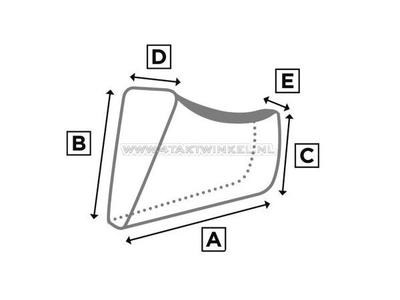 Housse de protection, Mash 400cc- 500cc, scrambler, XL