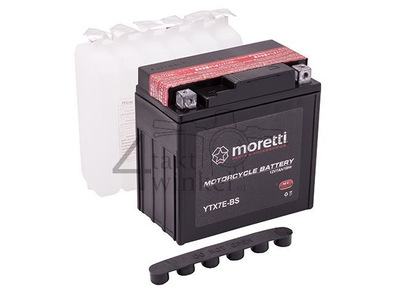Batterie 12 volts 7 ampères AGM, MTX7E-BS, y compris Mash Fifty