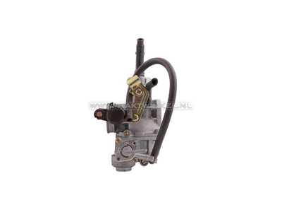 Carburateur C70, C90, 18mm, brede flens, kabel choke