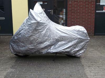 Beschermhoes XL, o.a. Mash Fifty, zilver