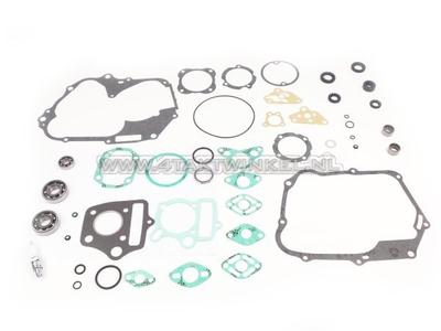 Kit de révision, bloc moteur, SS50, C50, Dax, avec roulements à aiguilles