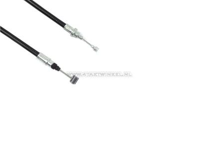 Câble d'embrayage, Benly, CD50s, 87cm, noir, d'origine Honda