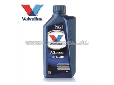 Huile Valvoline 10w-40 All Climate, minérale, 1 litre