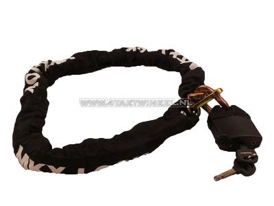 Antivol à chaîne, MKX, 120 cm, 10 mm
