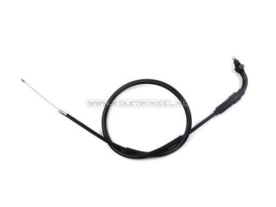 Câble de gaz, C50 NT, 72cm, avec coude, imitation