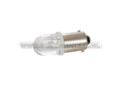 Lamp BA9s, enkel, 12 volt, LED
