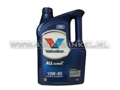 Huile Valvoline 10w-40 Tout climat 5 litres
