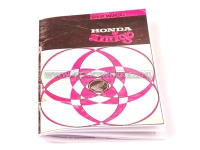 Werkplaatsboek, Honda Amigo, Novio, A5