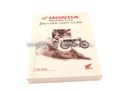 Honda modellen boek