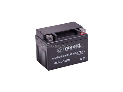 Batterie 12 volts 4 ampères gel / AGM, MTX4L-BS