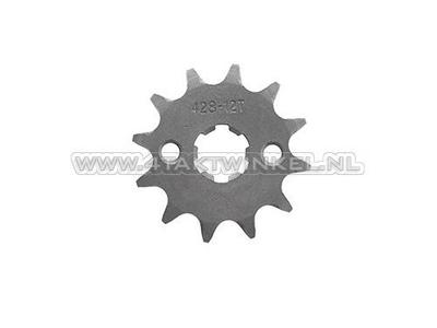 Pignon avant, 428 chaîne, 17mm, axe, 12, Mash/ AGM