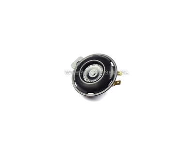 Toeter 12 volt, universele beugel, zwart, origineel Honda