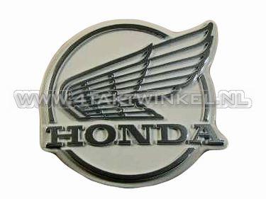 Emblème de protège jambes C50 NT, style ancien, d'origine Honda