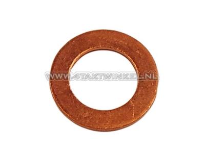 Rondelle 12 mm, bouchon de vidange en cuivre