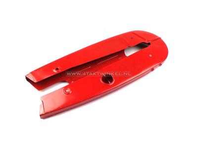 Jeu de protège-chaînes C50 OT modèle hautes rouge, imitation