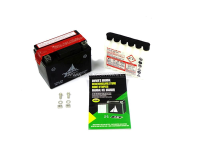 Batterie 12 volts 4 ampères pack acide, CT4L-BS