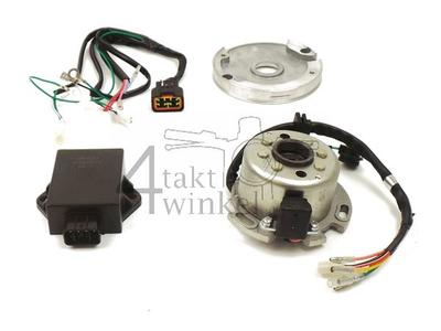 Kit stator d'allumage CDI 12v axe, Lifan 150cc, avec stator réglable