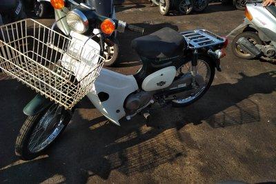 Coming soon! Honda C50 NT Japanese, green, 6000 km