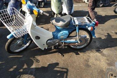 Coming soon! Honda C50 NT Japans, blue, 4524 km