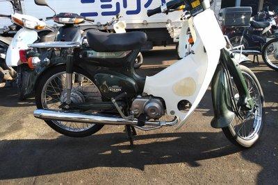 Coming soon! Honda C50 NT Japanese, green, 5800 km
