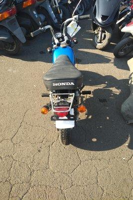 Coming soon! Honda Monkey, Japanese, 4808 km